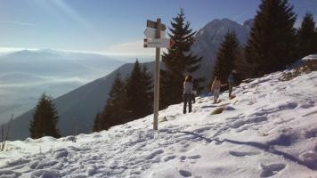 Itinerari invernali sotto il M. Pizzocco
