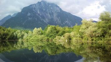 il lago di Vedana