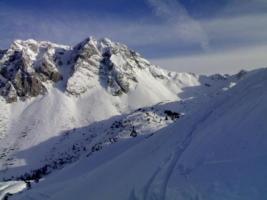 Sci alpinismo sul Cornor