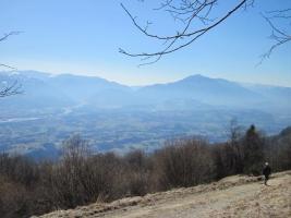 Camminata invernale in Prealpi, Monte Palmar