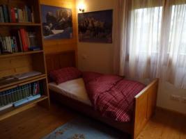 La camera preparata con l'altro letto singolo