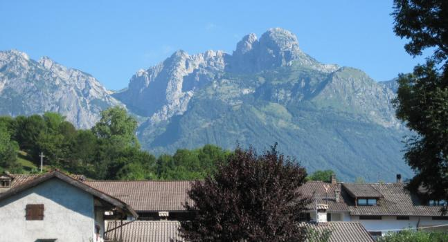 Vista del Monte Pizzocco